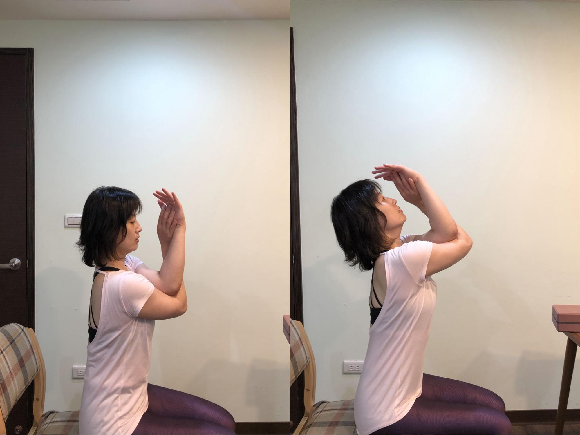 簡單瑜珈動作