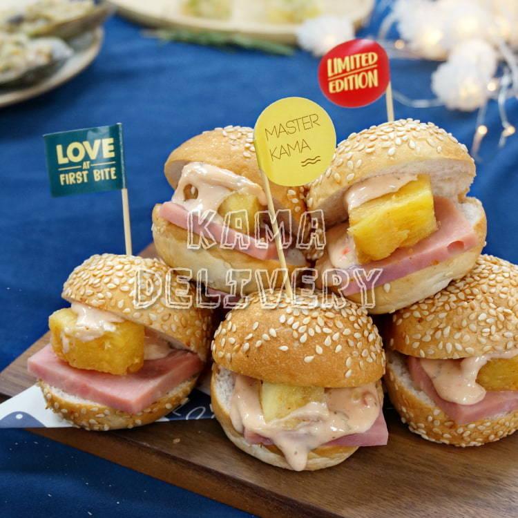 迷你漢堡包|大型活動Party必睇|到會服務推薦2021|Kama Delivery到會外賣速遞專家