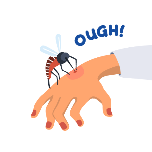 被蚊子叮咬,該抓嗎? | 防蚊液