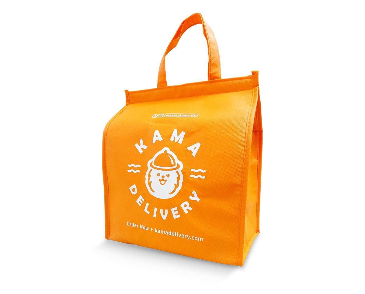 隨單附送的食物保溫袋 【葵芳外賣優惠】特快30分鐘外送速遞 內含葵涌區專屬優惠碼 Kama Delivery到會服務專家