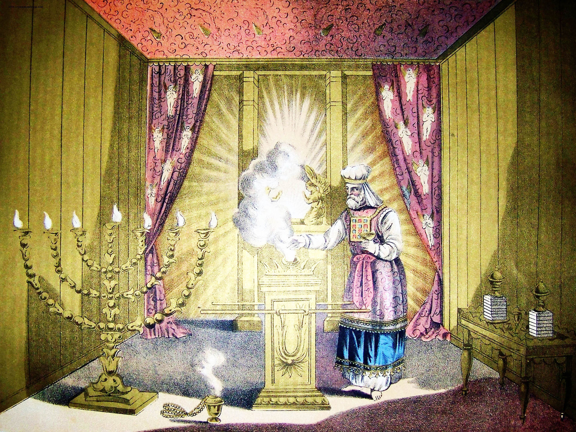 古代祭司利用胸甲上的12顆寶石傳達上帝的旨意