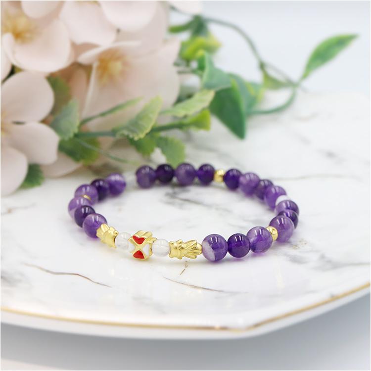 2月誕生石紫水晶源自希臘神話讓酒神保持清醒的意思。