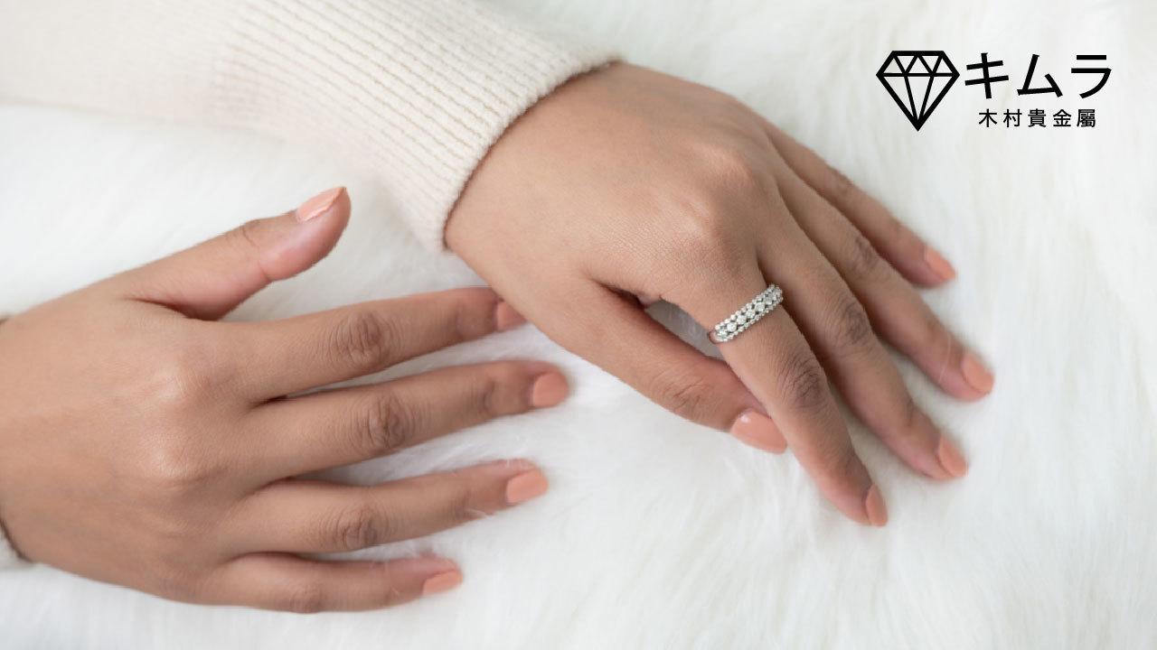 左右手手指戒圍不同,下訂前須先量測確認戒圍