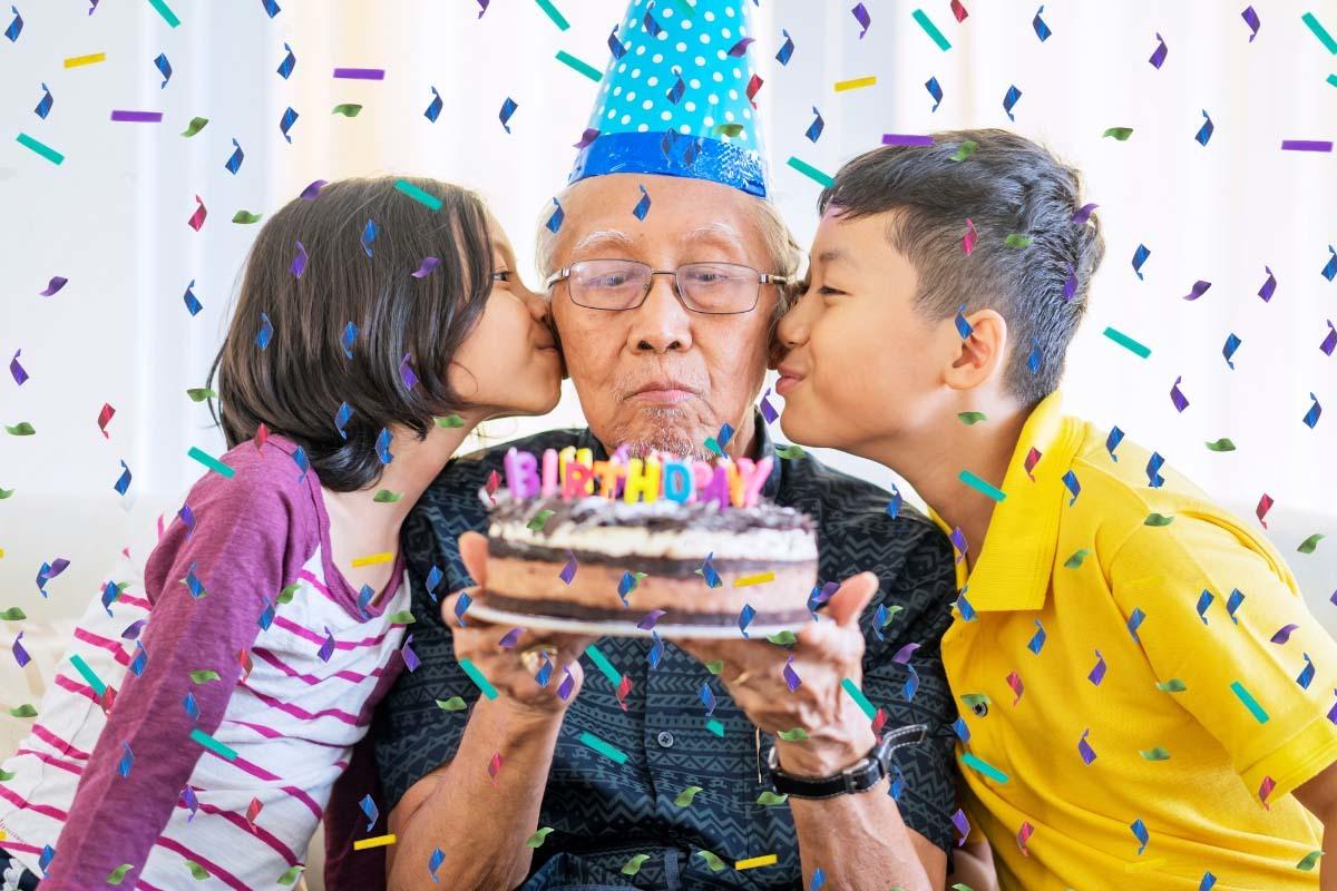 傳統上六十歲生日象徵人生新階段,家族會特別慶祝