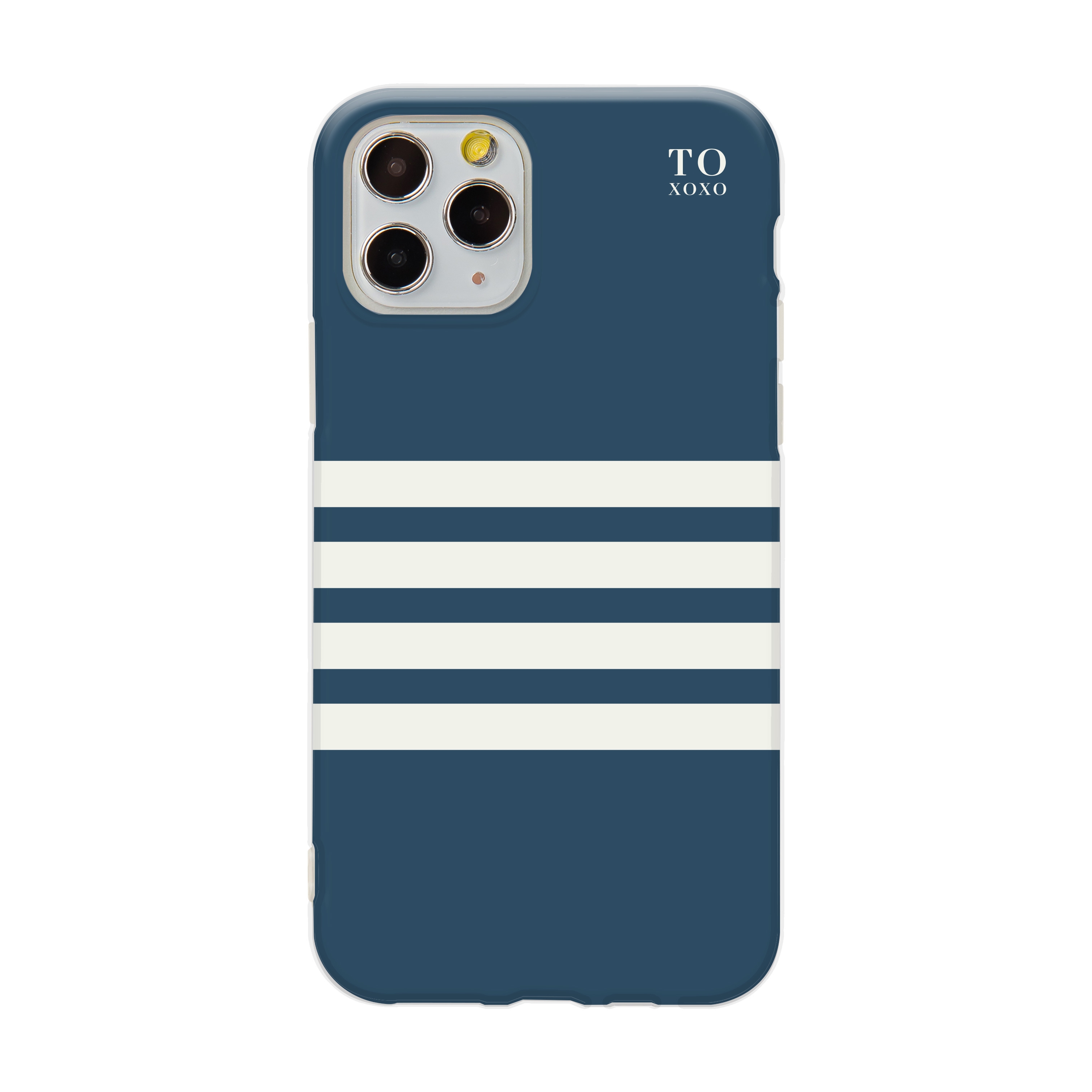 【 TOXOXO 】Ultra Pro系列 ❘ 藍白條紋iPhone防摔手機殼