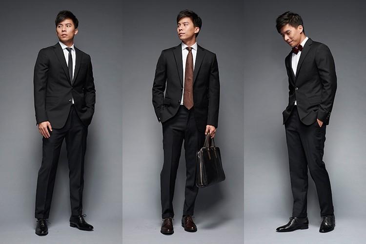 婚禮或商務的黑色西裝皮鞋搭配推薦