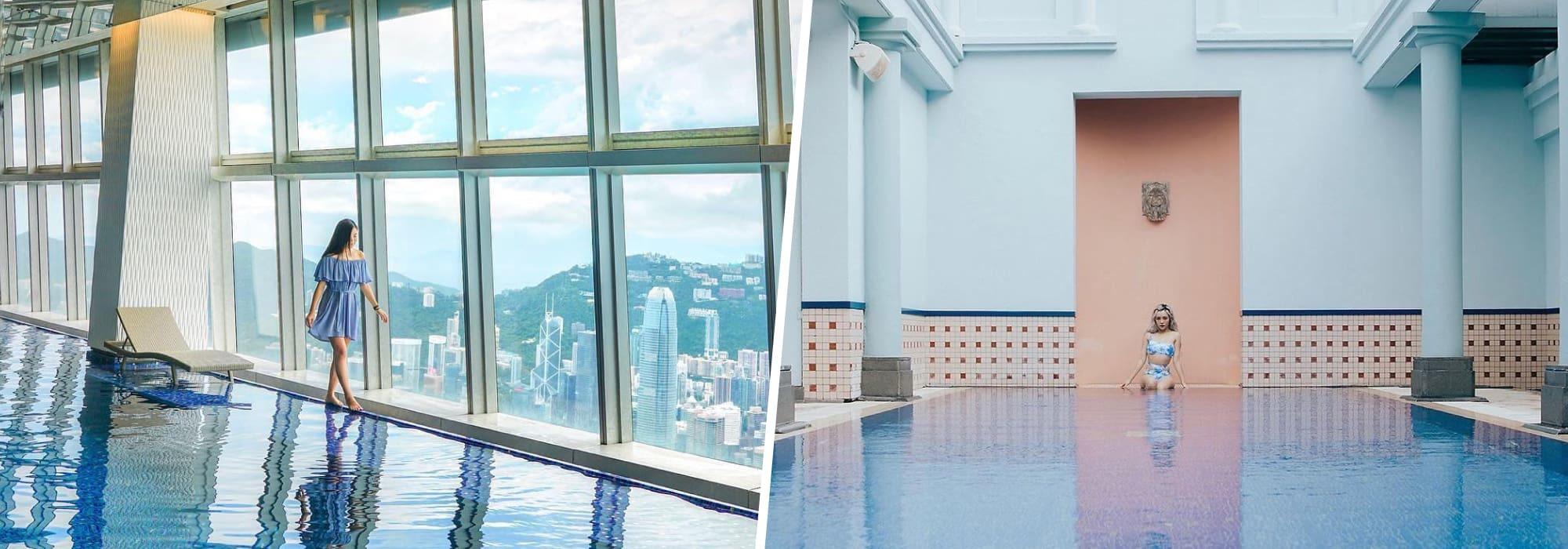 九龍區三大打卡酒店泳池推介|香港Staycation