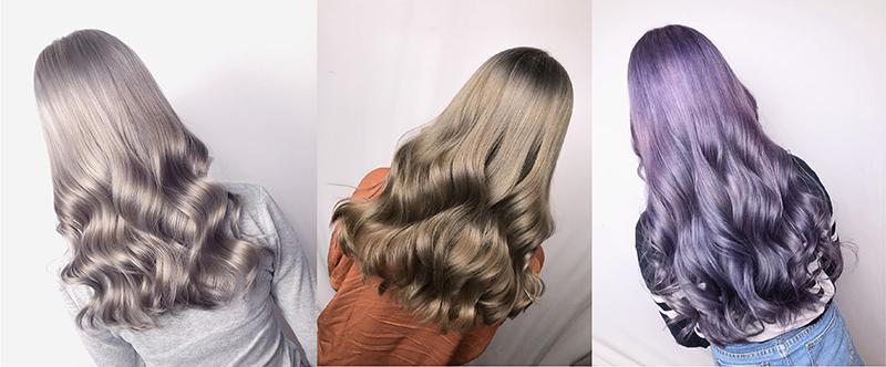 Ink Hair專業沙龍設計師精選作品集長捲髮背影篇