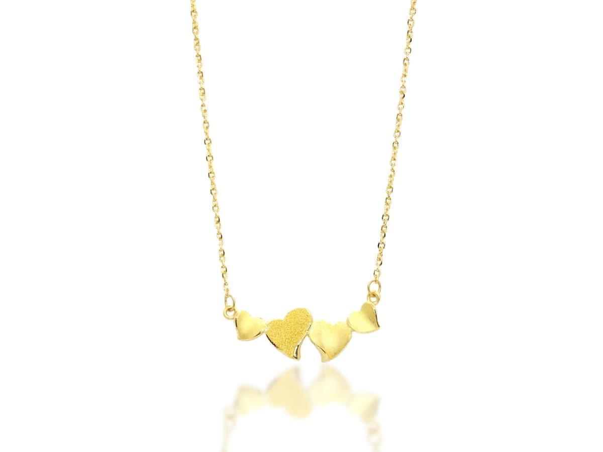 通常購買黃金飾品,產品上會標識金飾的成色