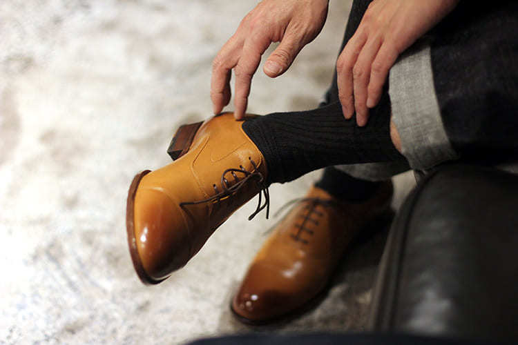 鵝頸牛津鞋
