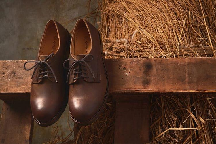 紳感基本德比工作鞋