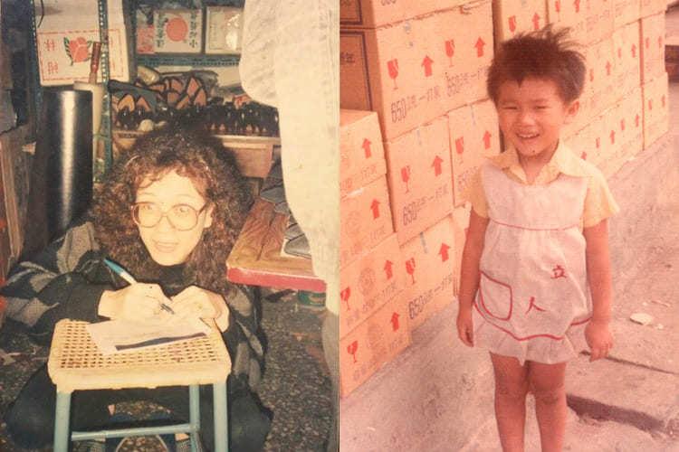 信儒小時候的照片