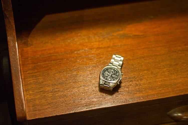 梁先生打工送給自己的第一支SEIKO手錶