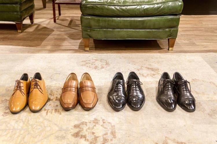 梁嘉文擁有的林果鞋