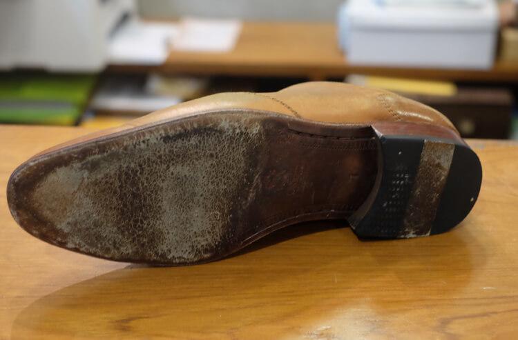 待修天的鞋子一開始的樣子