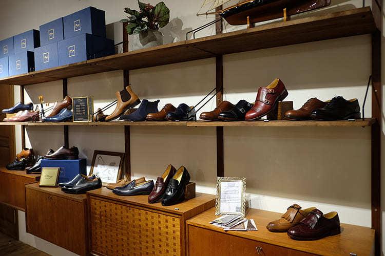 全手工皮底鞋的鞋店