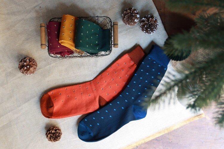 林果小方塊襪