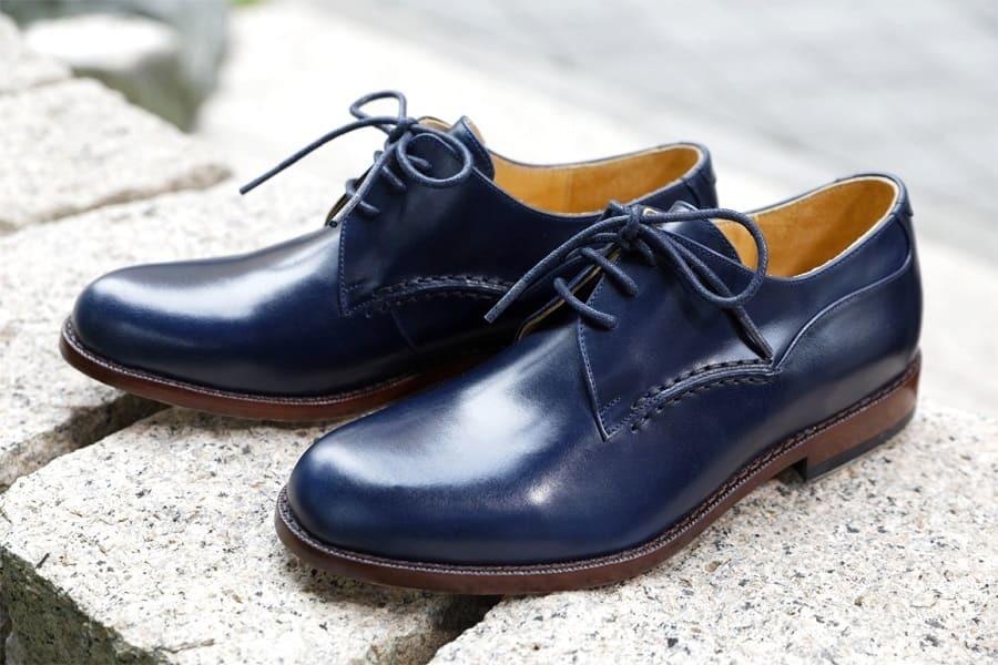 手縫素面牛津鞋
