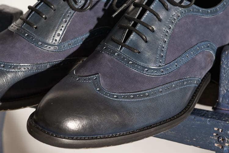 翼紋觀者牛津鞋