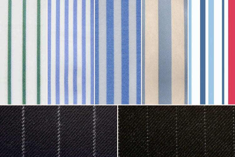 各式條紋種類