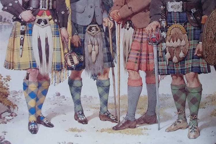 傳統蘇格蘭與愛爾蘭地區作為男士走路鞋