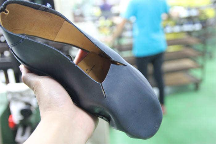 半包子式的製鞋工法