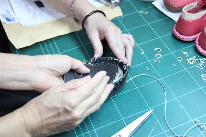 莫卡新縫製流程