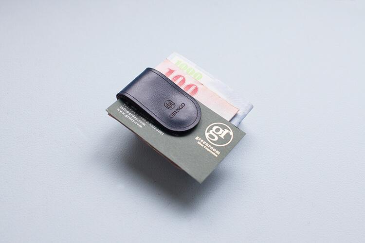 手工皮革鈔票夾