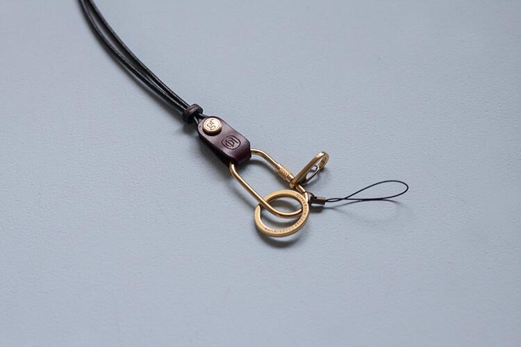 手工皮革機能吊繩