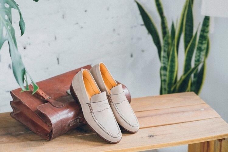 雙縫線便士樂福鞋
