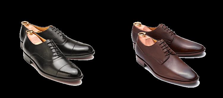 面試皮鞋以牛津鞋與德比鞋最為得體