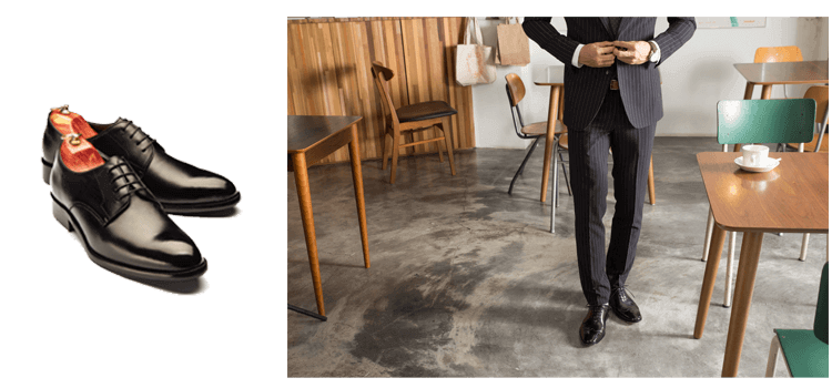 黑色西裝與皮鞋搭配推薦