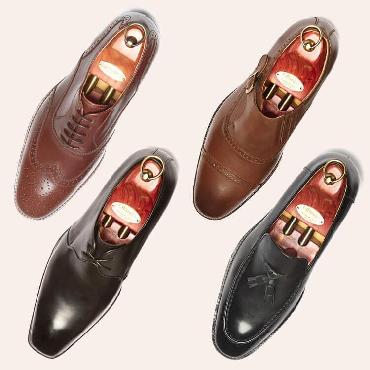 四種婚鞋的差異