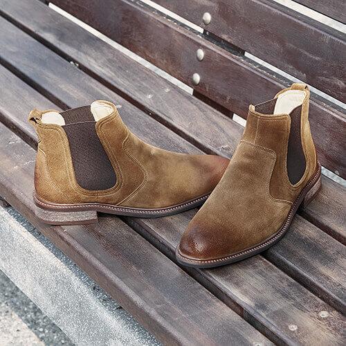 駱駝棕雀爾喜靴