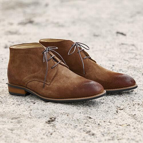 林果駱駝棕查卡靴