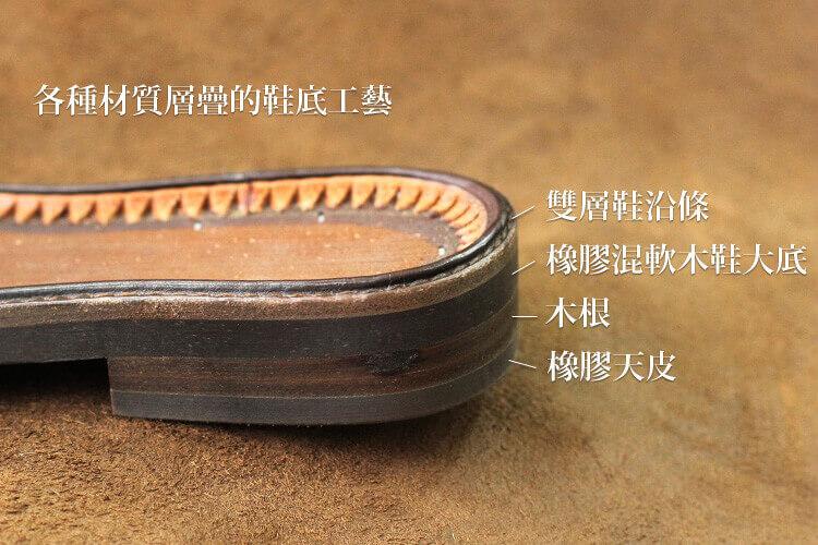 鞋底工藝呈現