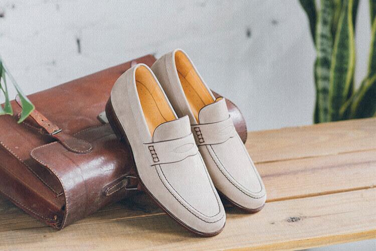 便仕樂福鞋灰色
