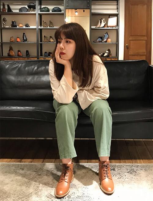 林果東門林姸示範德比踝靴