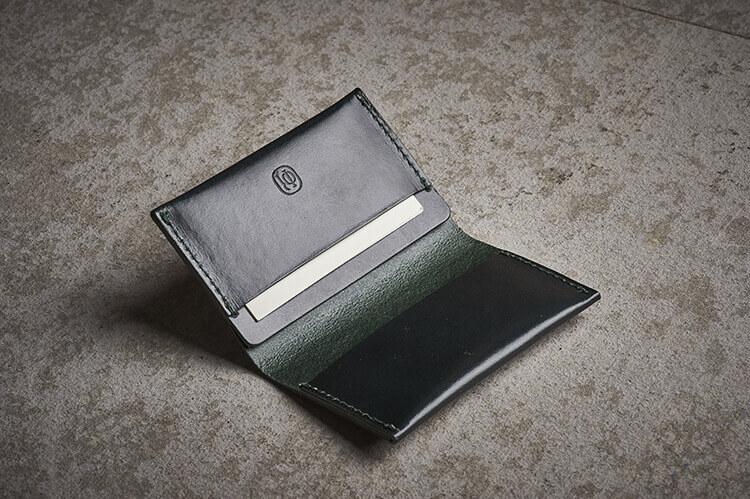 林果真皮卡片夾