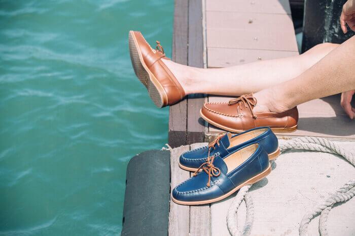 帆船鞋示範照