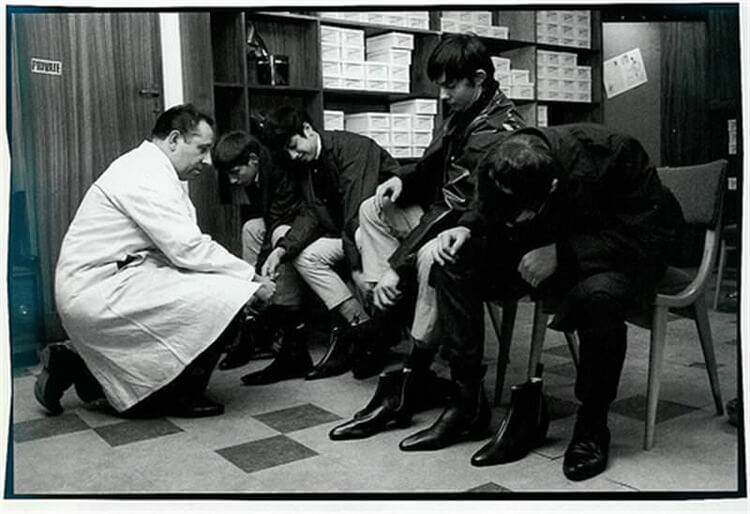 搖滾樂團披頭四也指名訂做的必備靴款