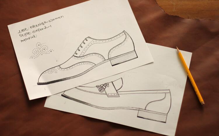 林果良品ORINGOW女鞋設計圖