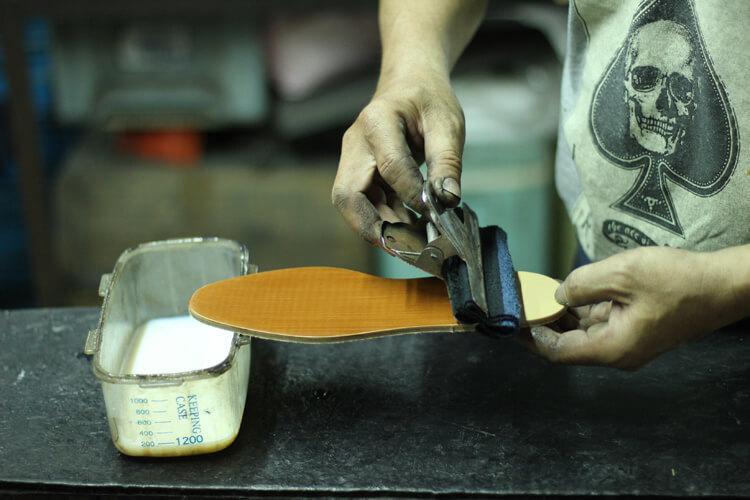 台灣師傅工藝的呈現-台灣製造皮鞋