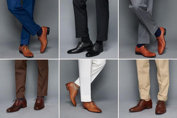 確定新郎西裝顏色後定調牛津鞋的顏色