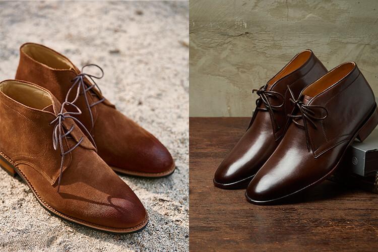 查卡靴與沙漠靴