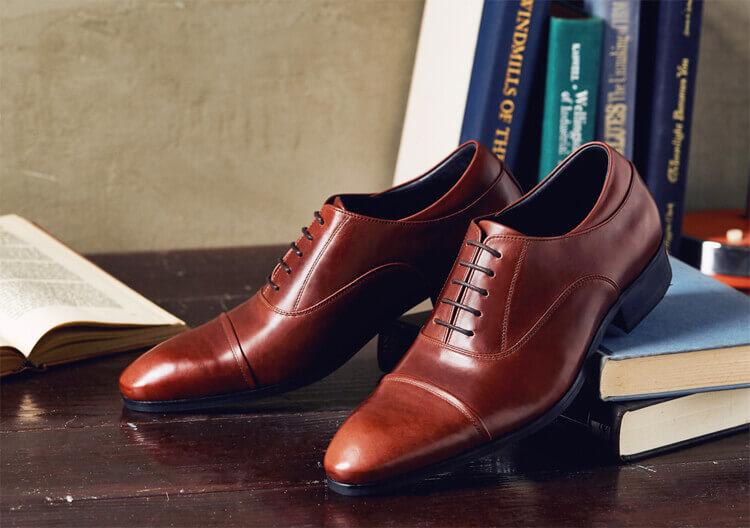 牛津鞋基本款 栗紅棕色
