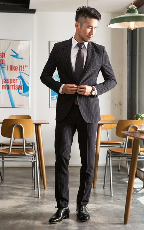 開會、上班、面試等正式場合牛津鞋穿搭