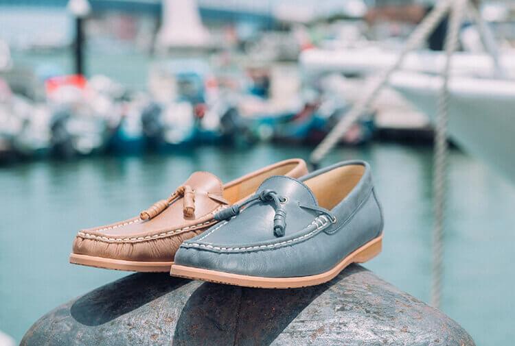 林果良品流蘇樂福鞋 Tassel Loafers 藍色與棕色