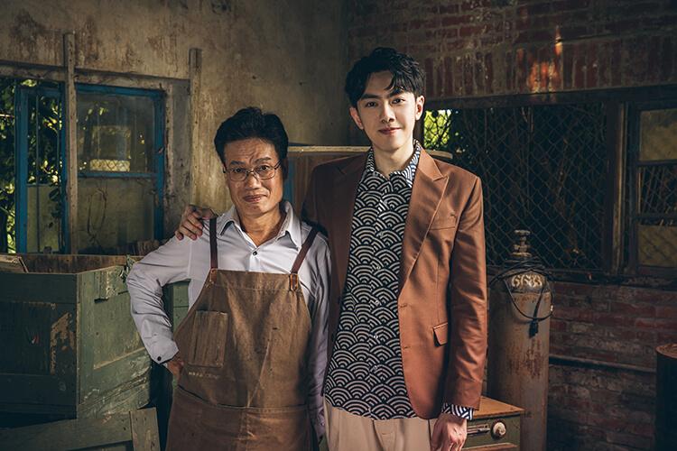 李友廷與師父