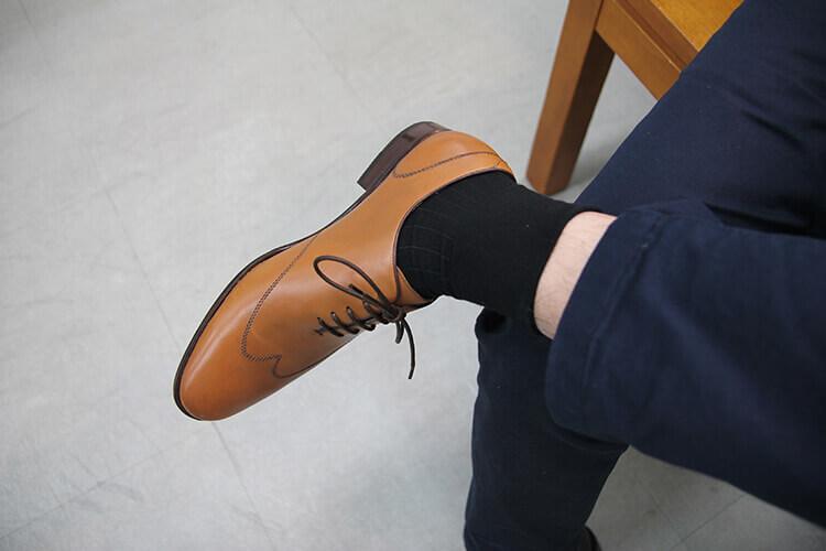紳士襪襪長過短